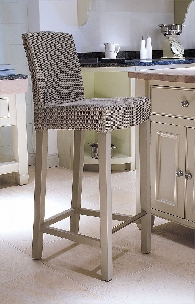 Kitchen island with table height seating - Neptune Montague Interior Bar Stool Pale Stone Click For Larger