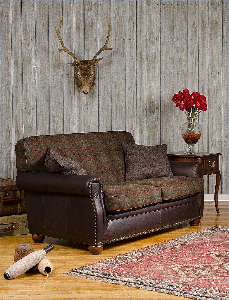 Harris Tweed   Montrose Petit Sofa