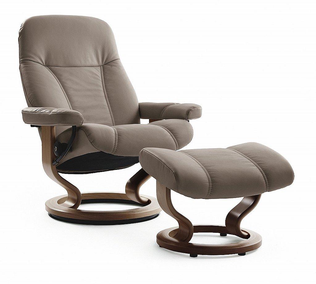 stressless consul recliner chair. Black Bedroom Furniture Sets. Home Design Ideas