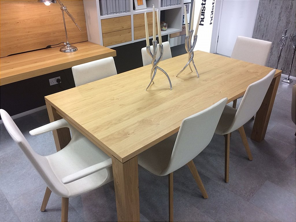 Hulsta et1400 dining table and 6 chairs for Sideboard xelo