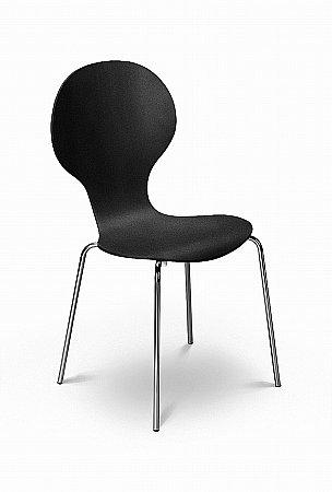 Keeler Black Dining Chair