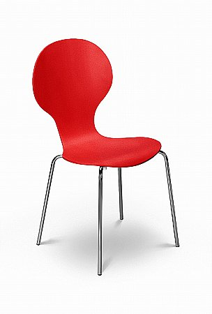 Keeler Tomato Dining Chair
