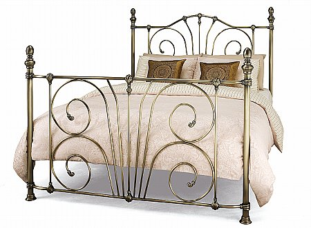 Jessica Bedstead in Antique Brass