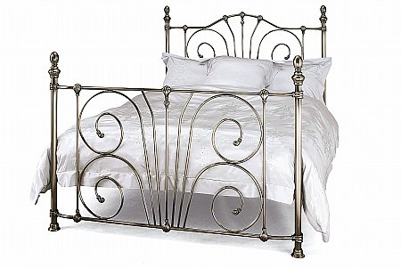 Jessica Bedstead in Antique Nickel