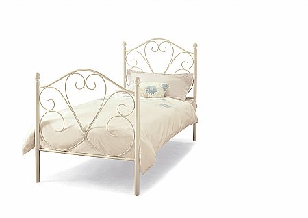 Isabelle Bedstead in White Gloss
