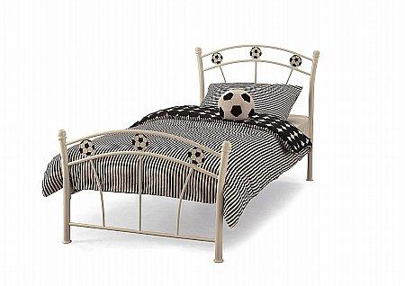 Soccer Bedstead in White Gloss