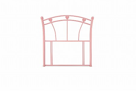 Jemima Headboard in Pink Gloss