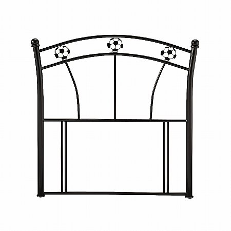 Soccer Headboard in Black