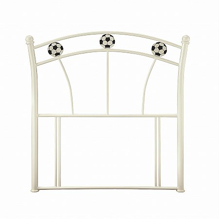 Soccer Headboard in White Gloss