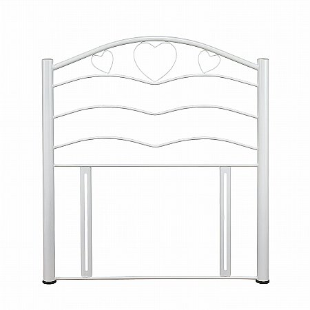 Yasmin Headboard in White Gloss