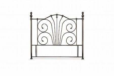 Jessica Headboard in Antique Nickel