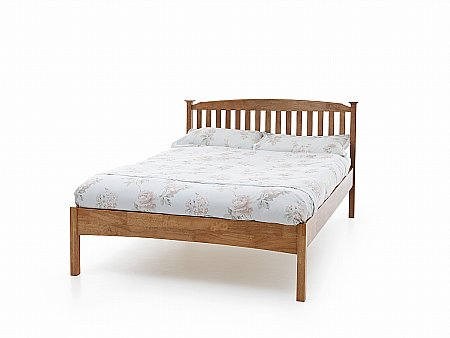 Eleanor Low Foot Bedstead in Honey Oak