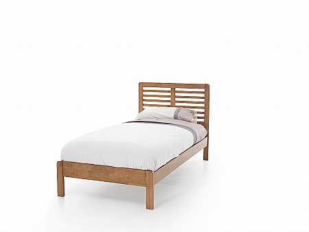 Esther Single Bedstead in Honey Oak