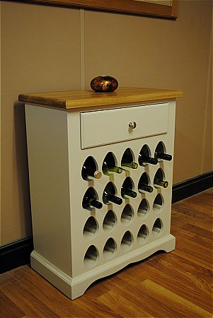 Barley Low Wine Rack