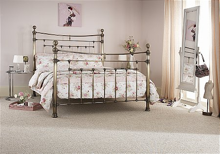 Edmond Bedstead in Brass