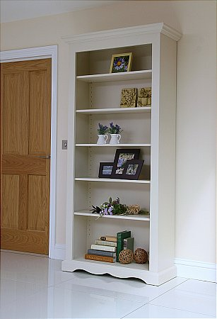 Barley Wide Open Bookcase