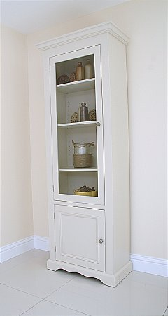 Barley Bookcase with Bottom Door