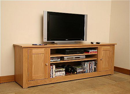 Elements 6ft 2in Entertainment Unit with 2 Doors