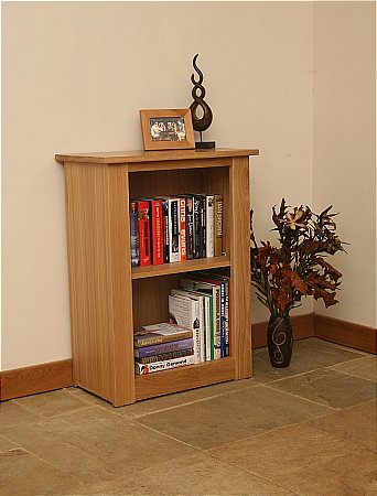 Elements Small Low Open Bookcase