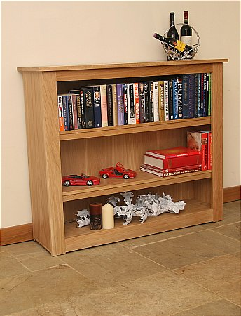 Elements Large Low Open Bookcase