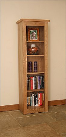Elements Narrow Open Bookcase