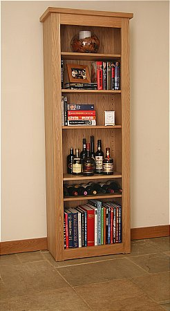 Elements Tall Open Bookcase
