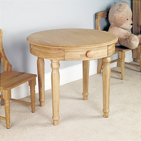 Amelie Oak Play Table