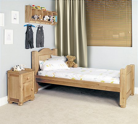Amelie Oak 3ft Single Bed