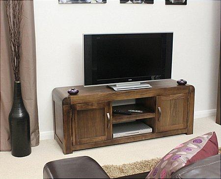 Shiro Walnut Widescreen TV Cabinet
