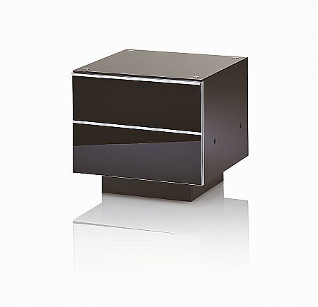 Ultimate G-DRW 47 Black TV Stand