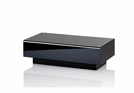 Ultimate G-DRW 86 Black TV Stand
