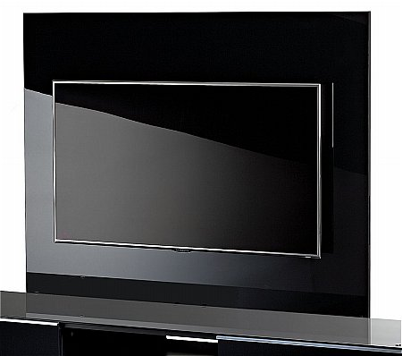 Ultimate G-Plate Black TV Stand