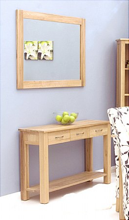 Mobel Oak Mirror
