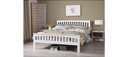 Amelia Bedframe in White