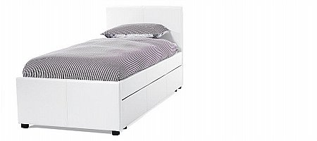 Carra Guest Bed in White