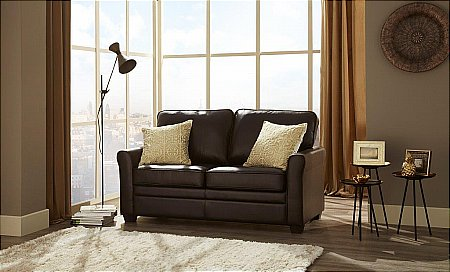 Naples Sofa Bed in Brown