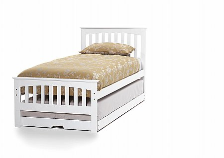 Amelia Guest Bed in Opal White
