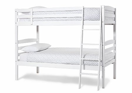 Brooke Bunk Bed in Opal White