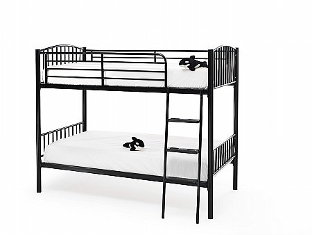 Oslo Twin Bunk in Black