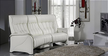 Rhine 3 Seater Curved Sofa