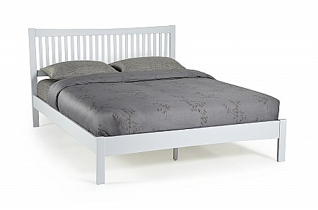 Mya Bedframe in Grey Oak
