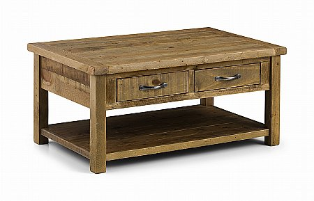 Aspen Coffee Table with Drawers