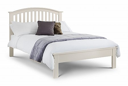 Olivia Bed in Stone White