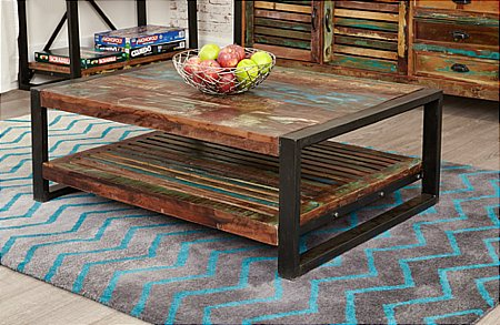 Urban Chic Rectangular Coffee Table