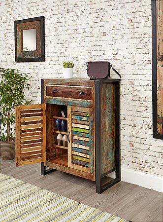 Urban Chic Shoe Storage Cupboard