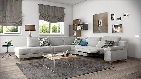 Levana Fabric Corner Sofa