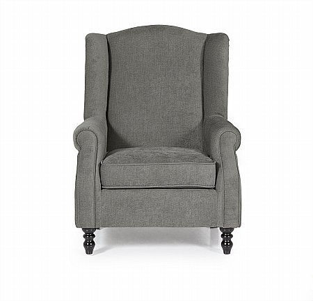 Ayr Occasional Chair in Grey