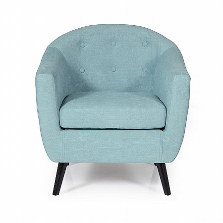 Evie Occasional Chair in Duck Egg