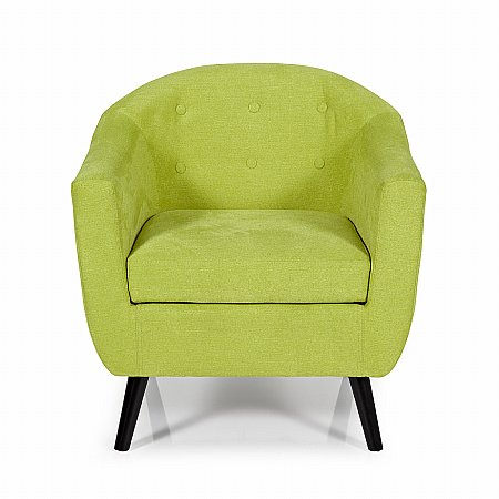Evie Occasional Chair in Green