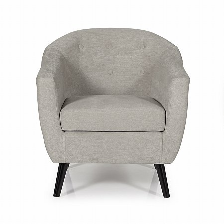 Evie Occasional Chair in Grey